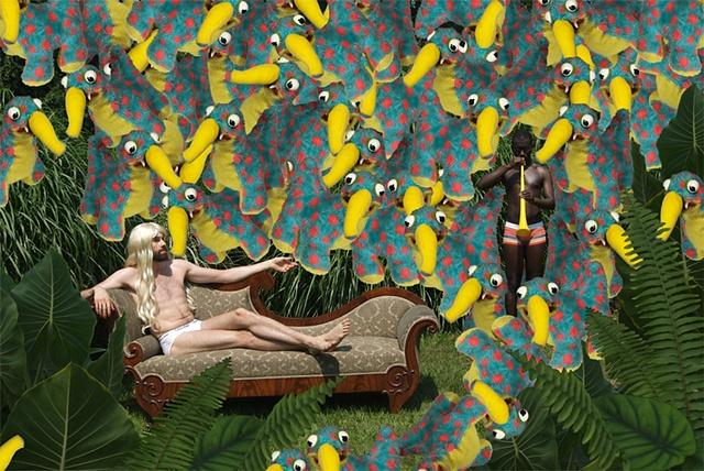 David Kagan Digital Print Bunny Boy Project