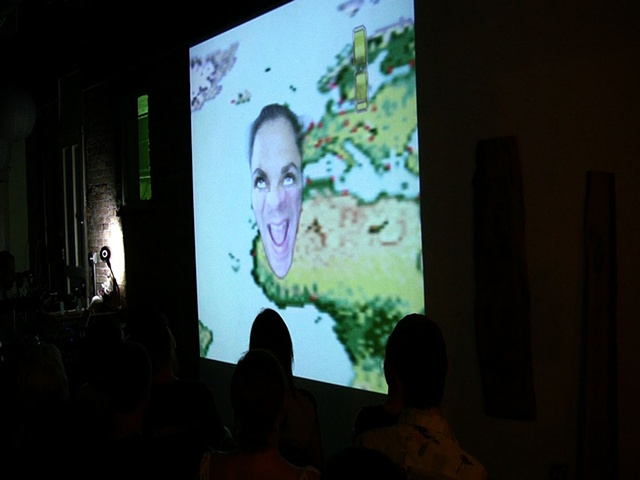 Spectralina performance at LivingRoom  excerpt