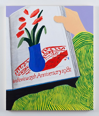 Flowers from Hockney