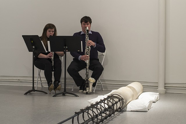 Some Moments, a curated invitational of performance, words, movement and sound, by Rafael E. Vera and Jessica Cochran
