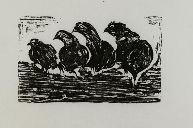 Roosting Hens