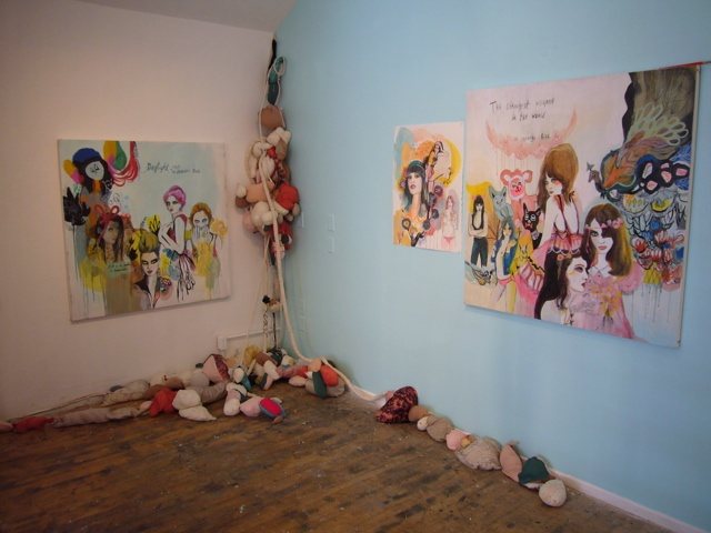 Wall Installation: for Lovesick and Vanishing