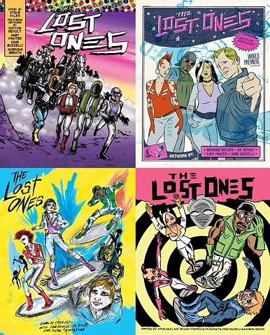 Microsoft Comic Book Collaboration