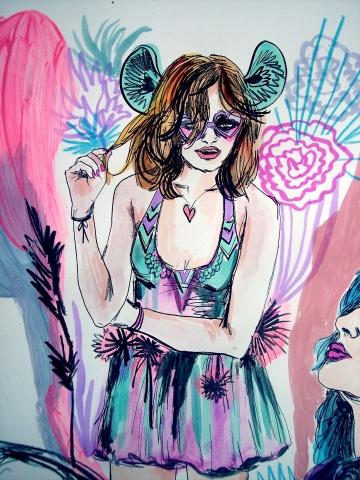 Flaunt Magazine Cover Art