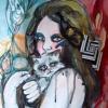 Portrait of Cat Lady