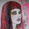 Portrait of NEON Girl