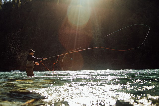 Fly Fishing Del Norte Co., California