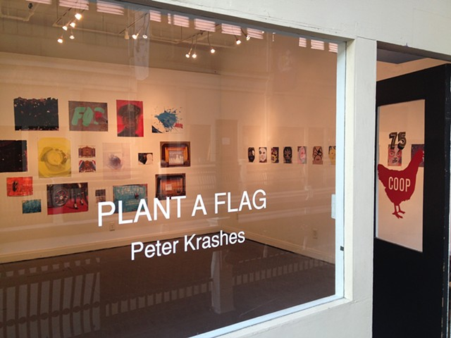 """Peter Krashes: Plant a Flag,"" COOP Gallery, Nashville, TN"