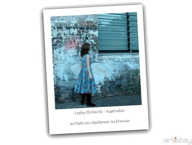 Lesley Roberts - artist in residence