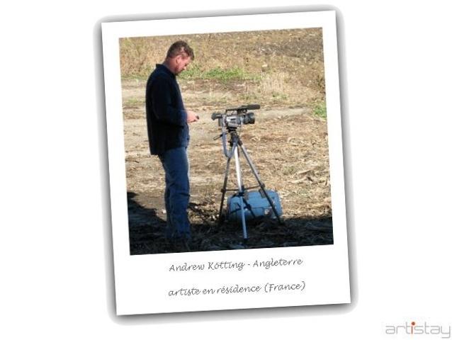 Andrew Kötting - artist in residence