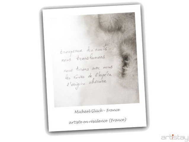Michael Glück - artist in residence