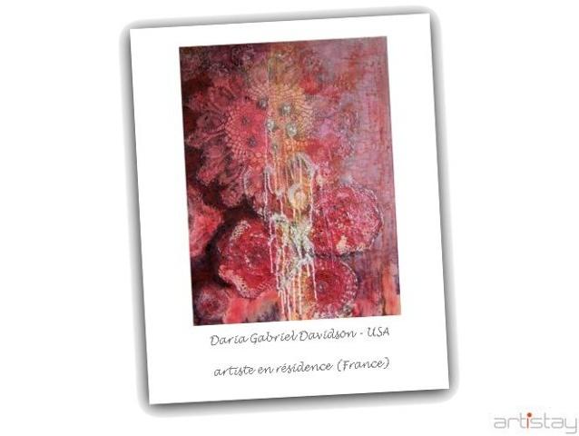 Daria Gabriel Davidson - artist in residence