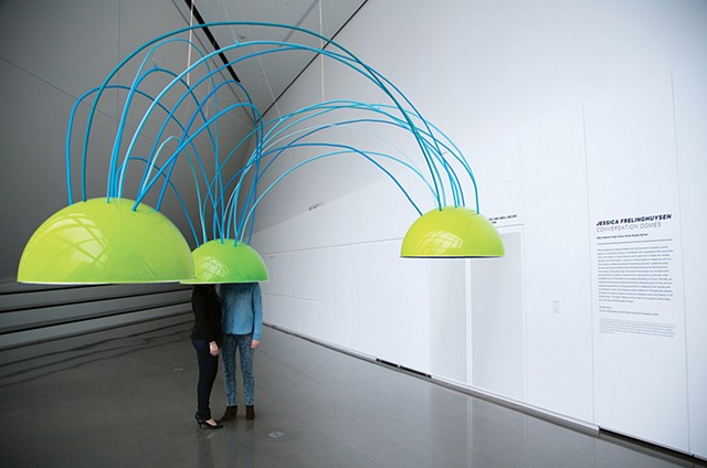 Conversation Domes. Sound Installation at the Broad Art Museum