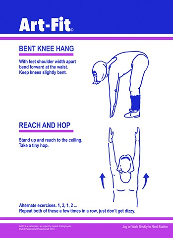 Art Fit Station–Bent Knee Hang