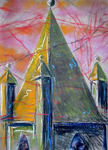 Millwood Church Spire