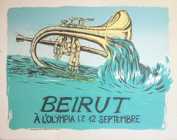 Beirut at the Olympia in Paris