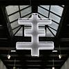 """Thee Ghost"" 30x40 neon - edition of 3 collaboration Breyer P-Orridge/ Daniel Albrigo"