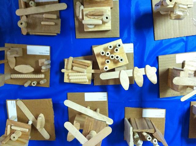 Wood Sculpture, 1st grade