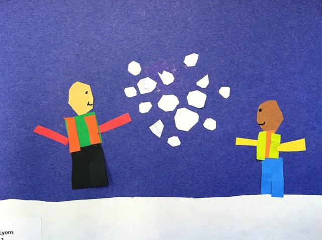 Winter, 2nd grade
