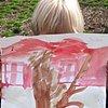 Outdoor painting, Kindergarten