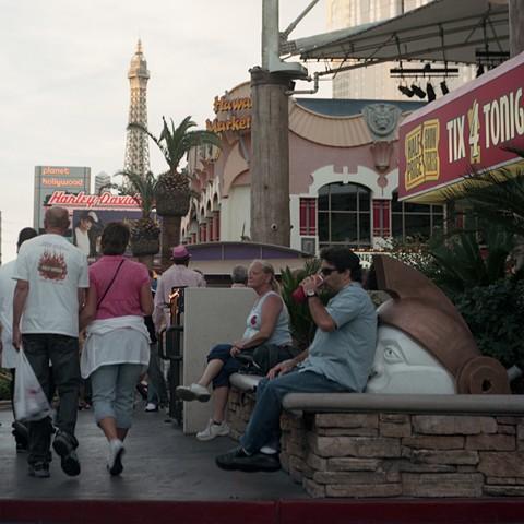 Part 1 – Circle 3 Putrid slush awaits them/Throwing offal down the gullet of Cerberus (Las Vegas Strip, Paradise, Nevada)