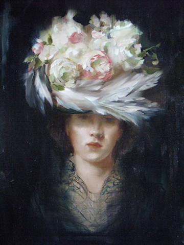 (detail of) The Milliner of Hinton and the Lace Farmer of Venice