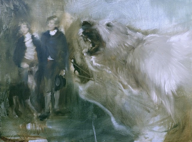 The Last Green Bear- passage after John Hoppner's The Cust Brothers