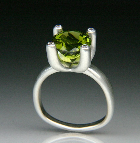 Allison Ring with Peridot