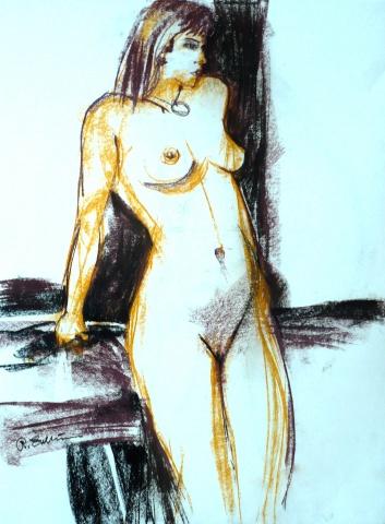 Standing figure study #8
