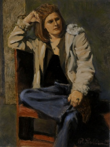 Study for Portrait of Casey