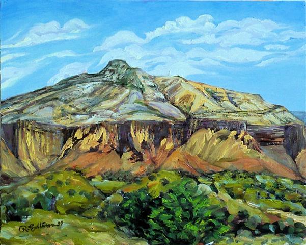 Landscape near Ghost Ranch