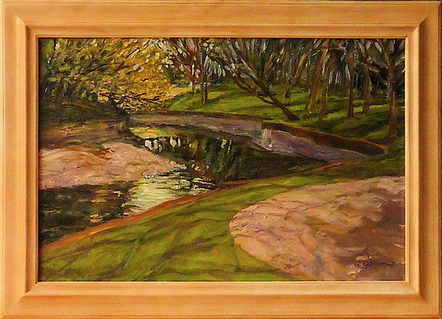 Bend in the creek at Lakeside