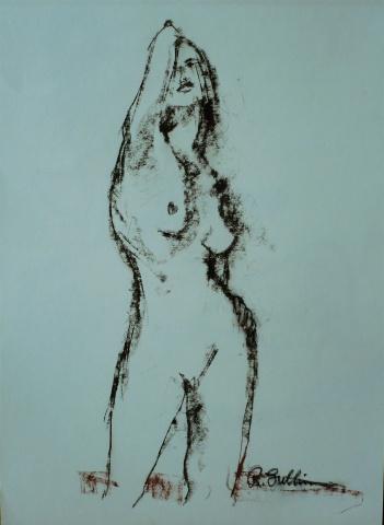 Standing nude – figure study #10