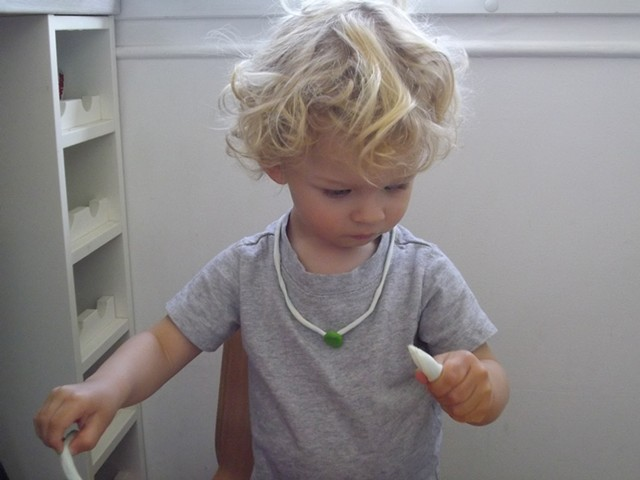 Play-doh necklace