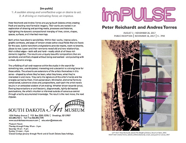 imPulse: Peter Reichardt and Andres Torres Exhibition