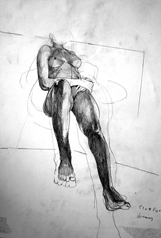 Figure Study from Life Drawing Session