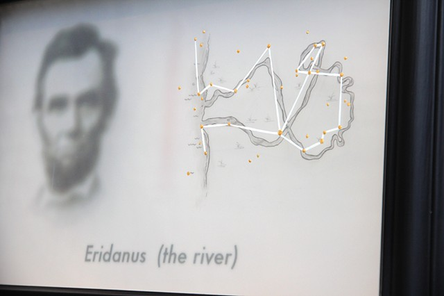 eridanus the river detail with abraham lincoln by michael paulus