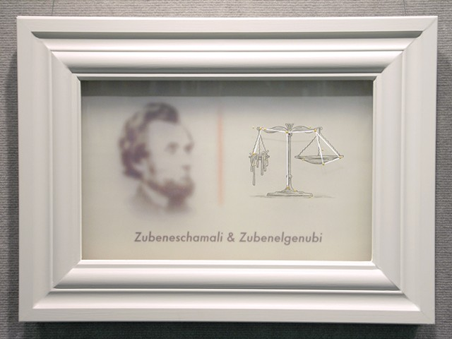Zubeneschamali  Zubenelgenubi with abraham lincoln by michael paulus