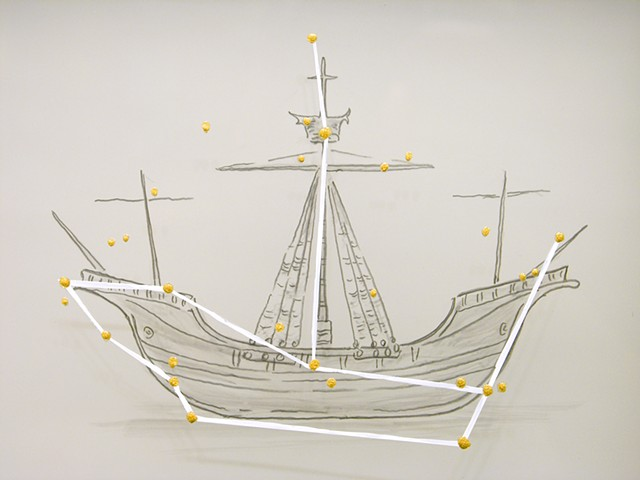 Double Bow Ship (detail)