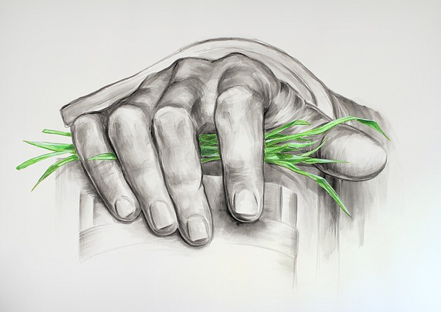 Grasping Right  Hands of Abraham