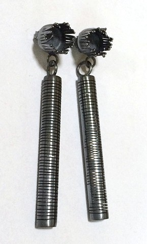 Post Earrings (Long Cut Tubes)