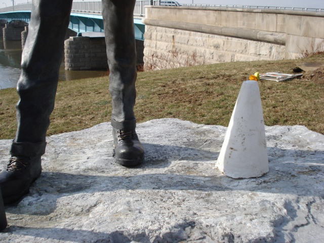 Penndot Memorial Cone Placement