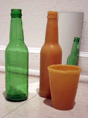 Bottles and Cup