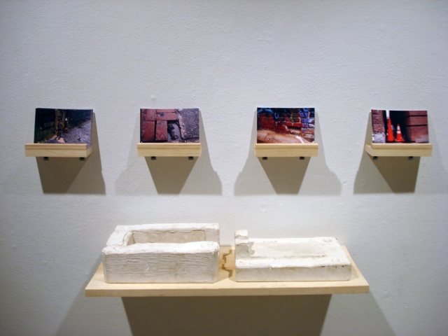 Brick Placements: Installation View