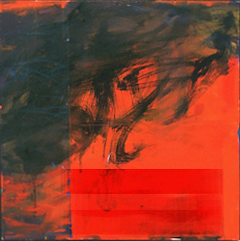 elegy red 9/11 fear abstraction