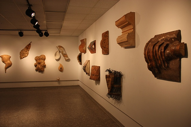 Ameen Gallery Installation Nicholls State University Recent Works in Sculpture