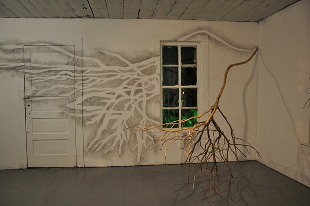 bendillerart.com - Branch Drawing Installation