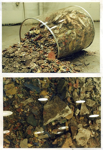 Residue Container After Spill