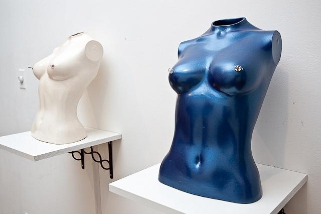 """""""Untitled 1 & 2"""" (Installation View) - Max Reinhardt"""