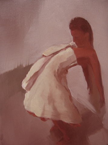 The Melancholic Bride (red)